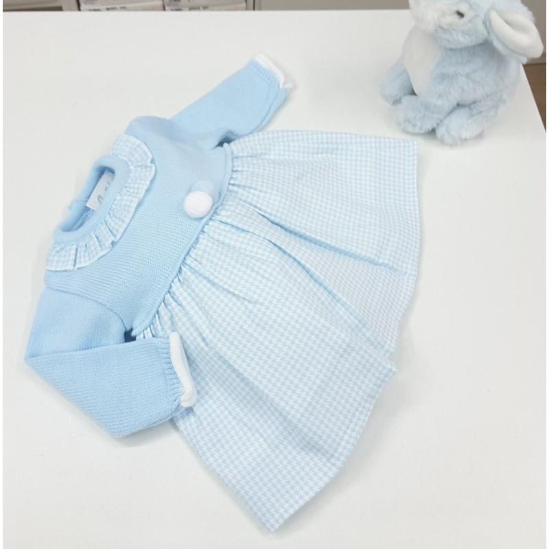 ef0fc16cf Vestido combinado - Señán Moda Bebes