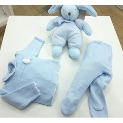 Conjunto de algodón para recién nacido