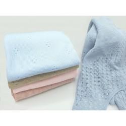 Toquilla calada lana