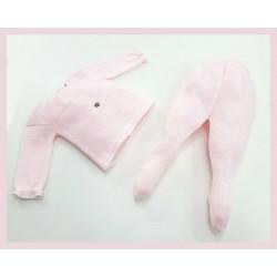 Conjunto bolsillo rosa